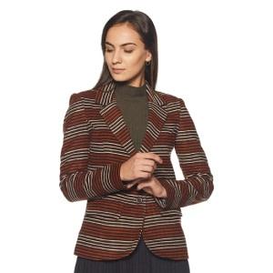 Endeavor Women's Striped Coat