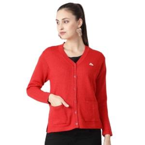 Monte Carlo Pure Red Sweater