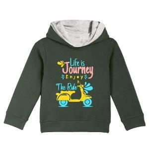 Naughty Ninos Girls Hooded Sweatshirt