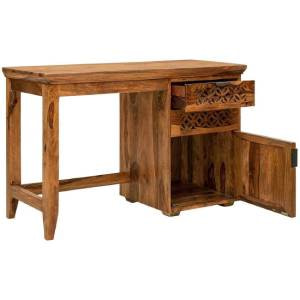 RSFURNITURE Natural Finish Study Table