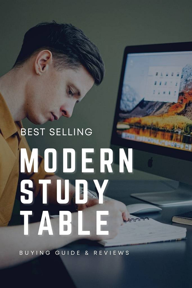 Modern Study table with Chair in India